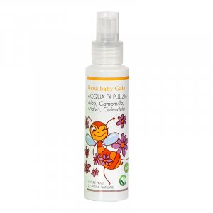 Acqua di pulizia spray biologica Baby Gaia