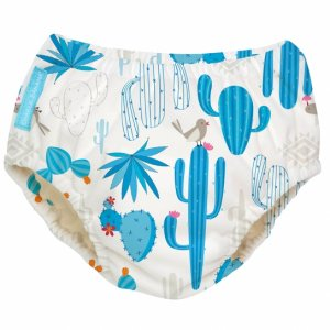 Mutandina trainer CHARLIE BANANA ® e costumino 2 IN 1 - fantasia BLUE PINEAPPLE