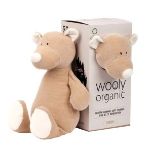 Peluche biologico orsacchiotto Wooly Organic Teddy bear